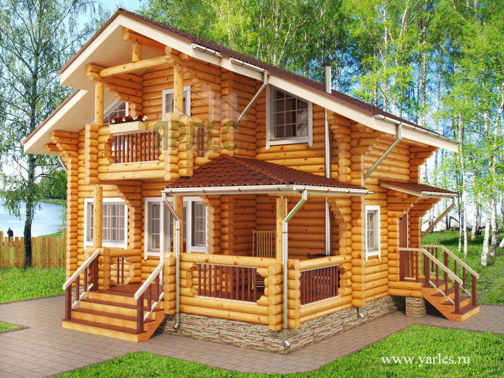 Деревянные дома по любому проекту
